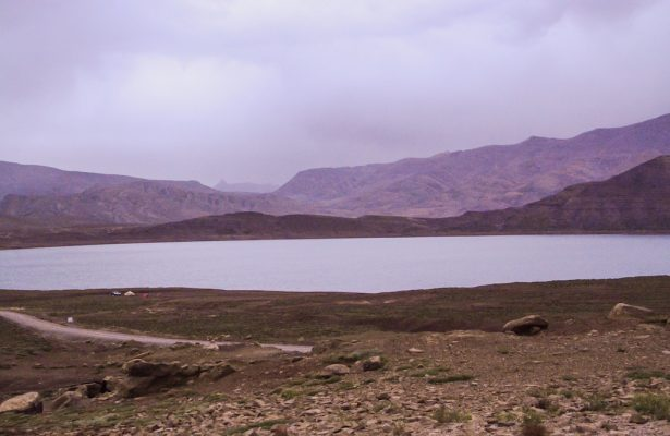 Isli lake in Imilchil