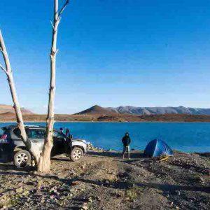 Tislit lake in Imilchil