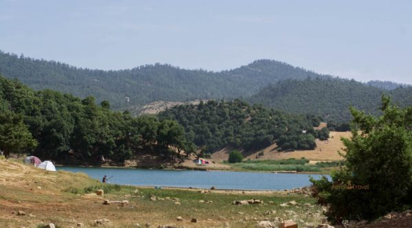 lakes in Morocco- Tiguelmamin