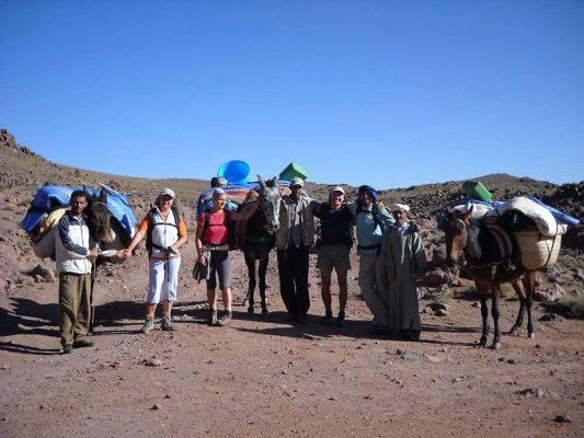 Nomads in Morocco