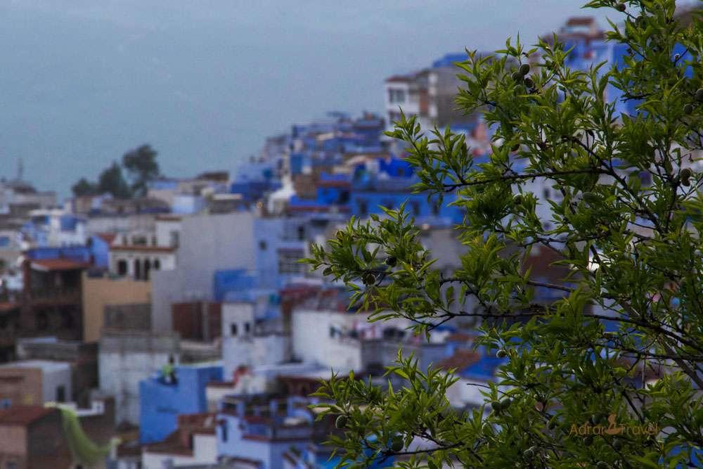 Chefchaoun blue city