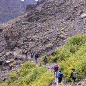 trekking in Toubkal