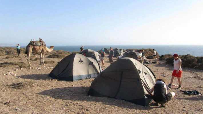 trekking in Morocco coast